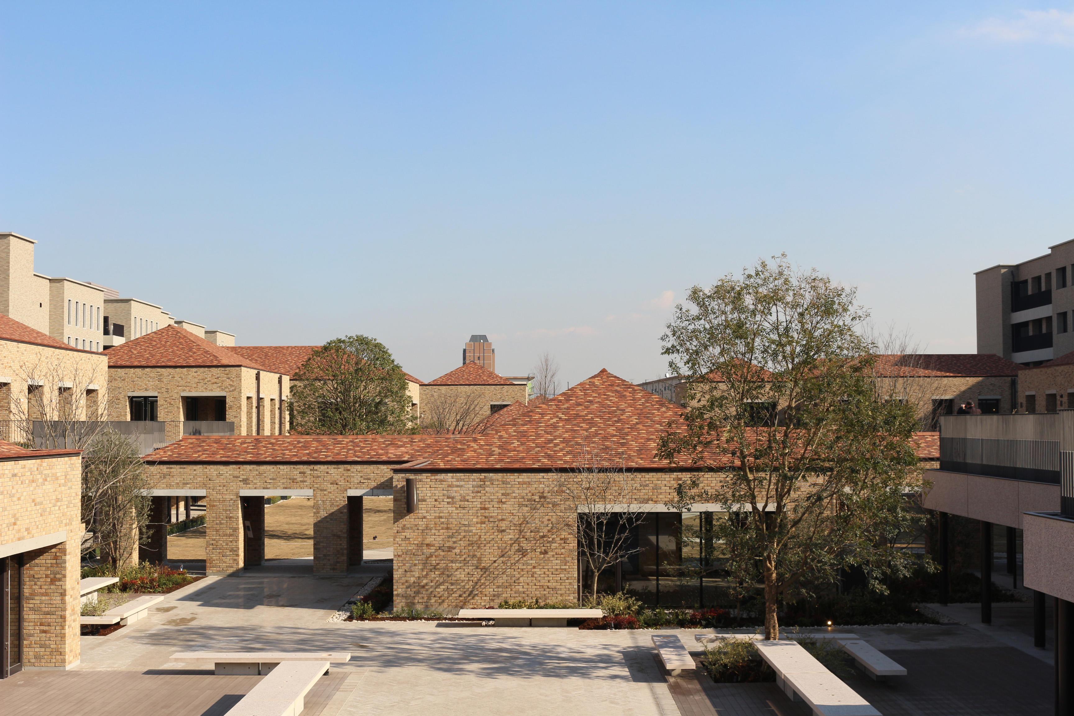 関西外国語大学の新キャンパス『御殿山キャンパス・グローバルタウン』が完成