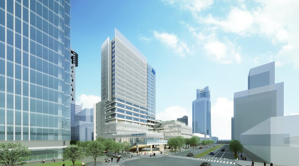 無事安全を祈願。「みなとみらいキャンパス新築工事起工式」が執り行われました -- 神奈川大学