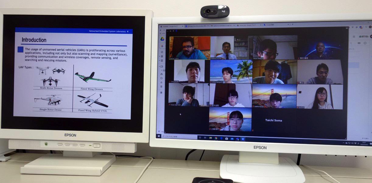 芝浦工業大学 オンラインで国際共同研究が加速