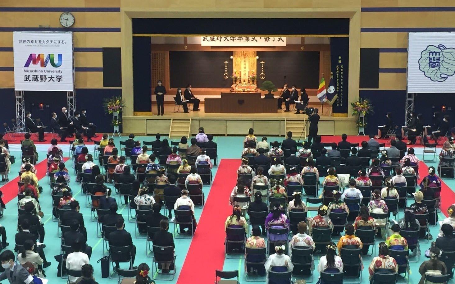 令和2年度入学生(新2年生)対象の「入学式」を4月4日開催 -- コロナ対策を徹底し、武蔵野キャンパスにて対面で実施 --