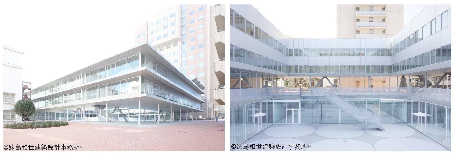 日本女子大学創立120周年事業「目白の森のキャンパス」グランドオープン -- 本学卒業の建築家・妹島和世氏がキャンパス全体を初デザイン