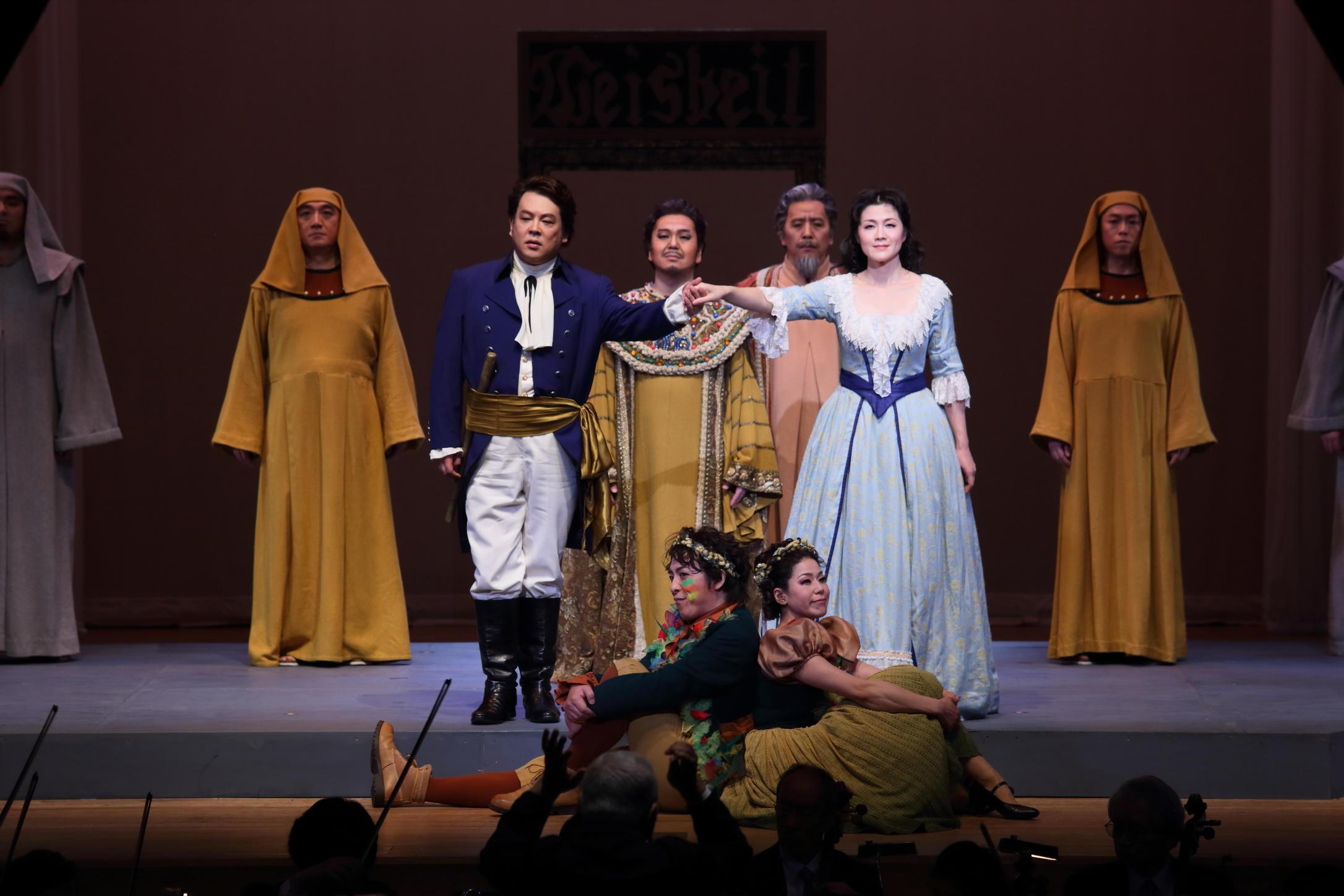 聖徳大学が10月26日に第16回オペラ公演『魔笛』を上演 -- 国内外で活躍する同大の教員陣と音楽学部の学生が共演