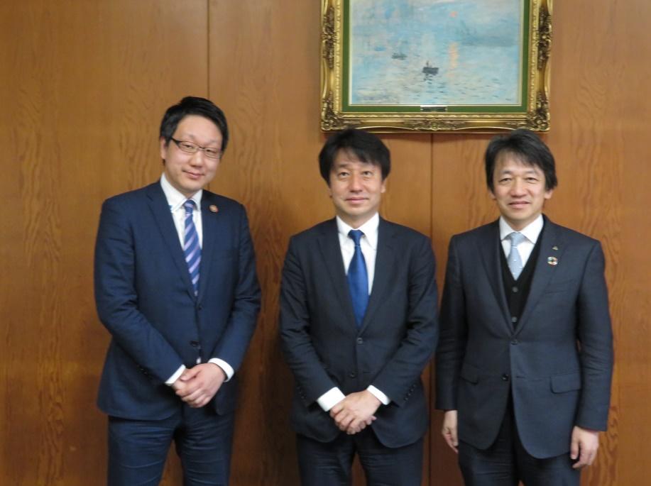 米州開発銀行 大石アジア事務所長が金沢工業大学を訪問。SDGsに関する意見交換を実施