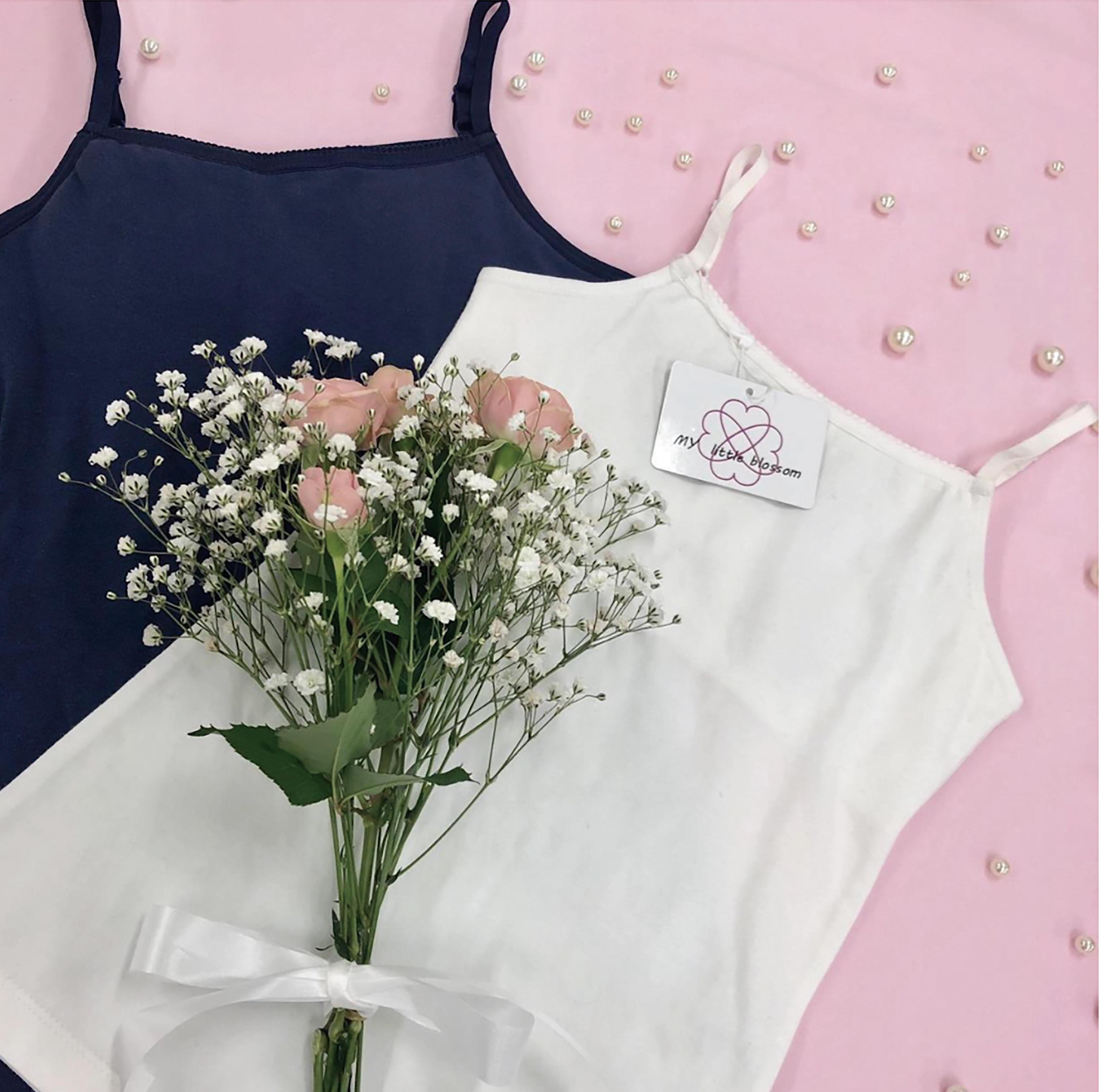 ふんわり包み、やさしく守る 女子大生が生み出した究極の「ファーストブラ」を発売 -- 昭和女子大学