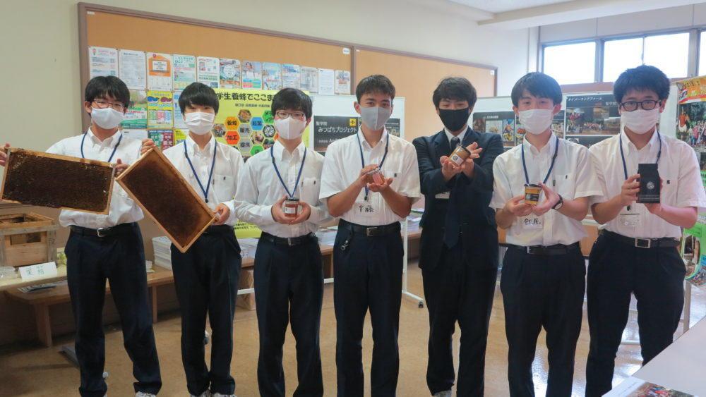 聖学院みつばちプロジェクトの商品を渋沢×北区 飛鳥山で販売