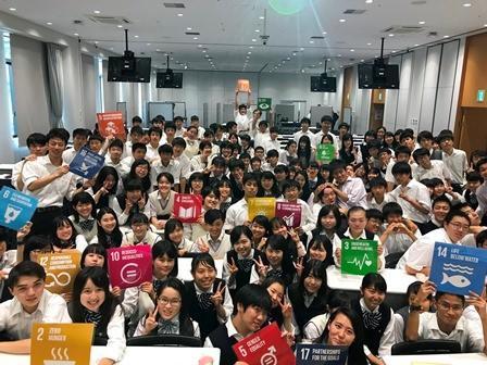 ◆「関西大学高等部SDGsフォーラム」を開催◆SDGs達成に向けて、高校生140人が16の企業・団体とディスカッション!