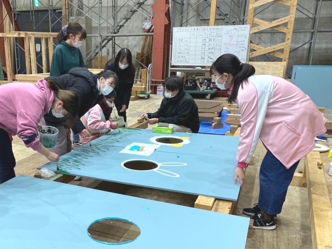ものつくり大学と埼玉純真短期大学の共同研究プロジェクト、両大学の専門を活かしたキッズハウスが完成!