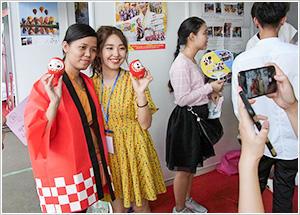 「海外インターンシップ」ベトナムイベント交流体験プログラムの実施 -- 帝京平成大学