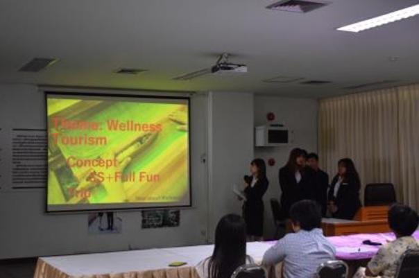 追手門学院大学の学生が12月5日にタイ観光の日本人誘致策を旅行会社に公開プレゼン -- 海外研修「タイ国際協力プログラム」の一環、有機農業ファームとシルク産業に注目