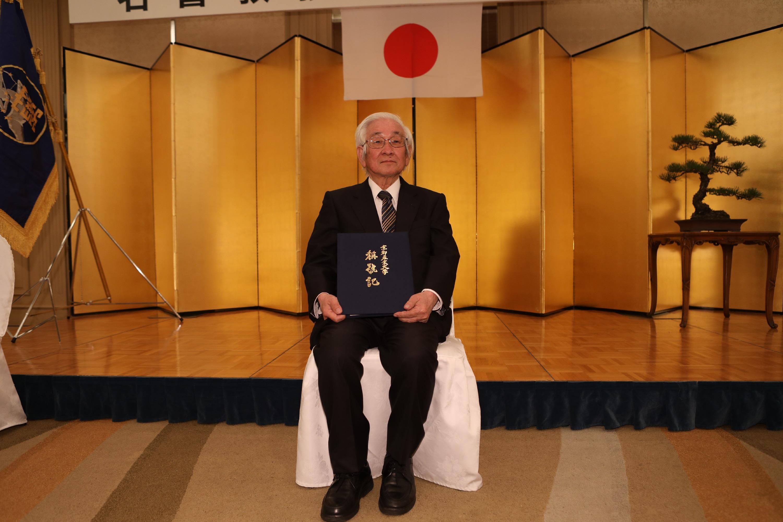 京都産業大学 益川敏英教授が退職。京都産業大学名誉教授の称号を授与