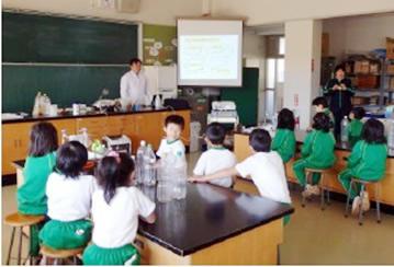 サツマイモを使ったメタンガスエネルギー実験教室 -- 近畿大学