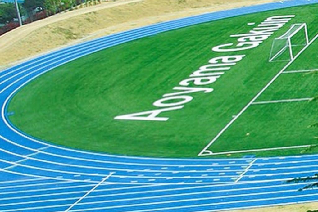 青山学院大学陸上競技部(長距離ブロック)は2021年度も妙高市のロゴとともに駆け抜ける